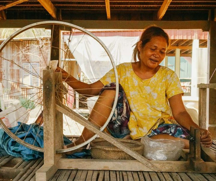 Green Cultural Travel - Cambodia - Tours - Silk Island (22)