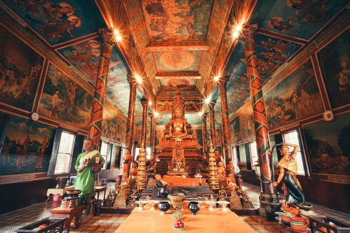 Green Cultural Travel - Cambodia - Tours - Wat Phnom (3)