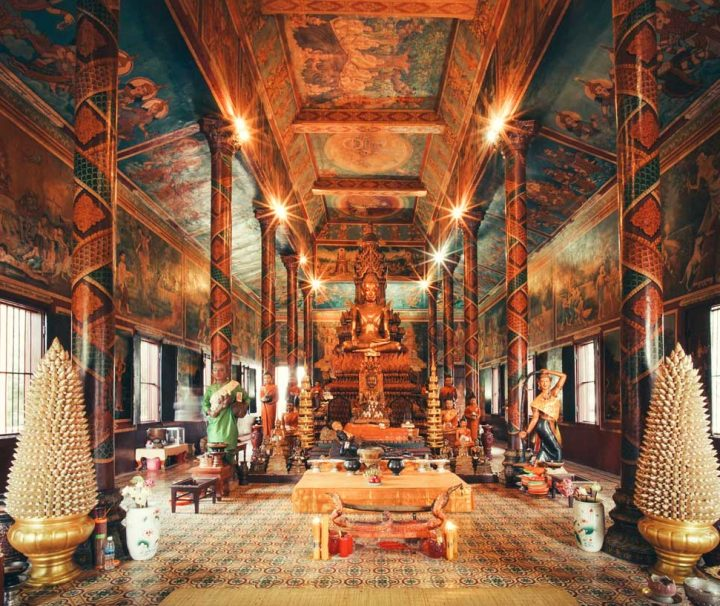 Green Cultural Travel - Cambodia - Wat Phnom