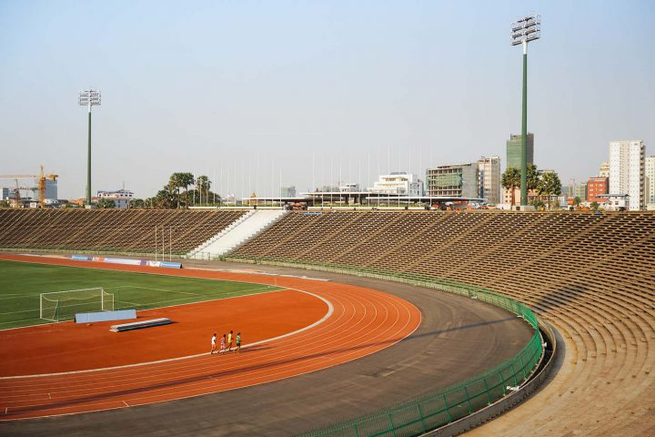 Green Cultural Travel - Cambodia - Tours - Olympic Stadium (6)