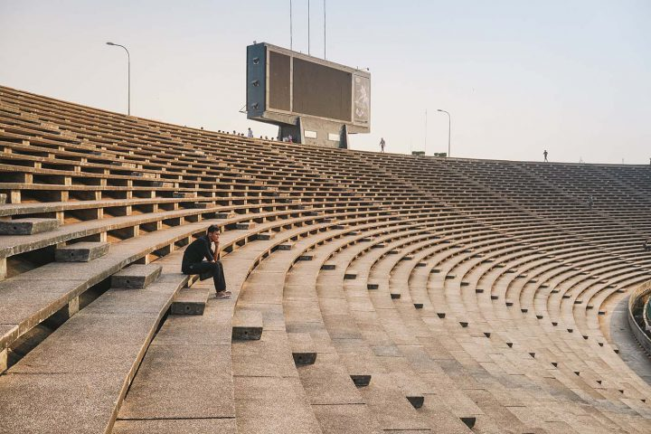 Green Cultural Travel - Cambodia - Tours - Olympic Stadium (3)