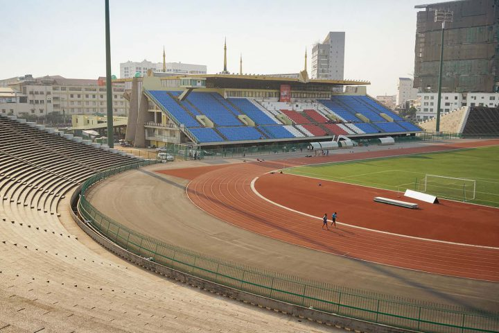 Green Cultural Travel - Cambodia - Tours - Olympic Stadium (4)