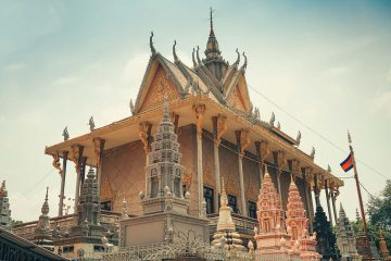 Green Cultural Travel - Cambodia - Tours - Wat Langka (4)