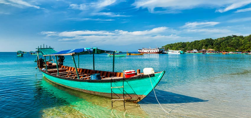 Green Cultural Travel - Cambodia - Tours - Boat in Sihanouk