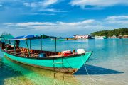 Green Cultural Travel - Cambodia - Sihanouk Ville - Boats in Sihanoukville