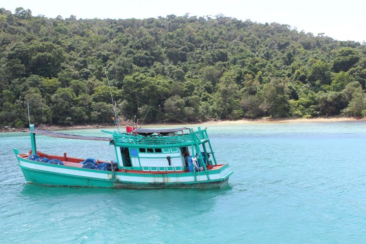 Green Cultural Travel - Cambodia - Sihanouk Ville - Fishing Boat