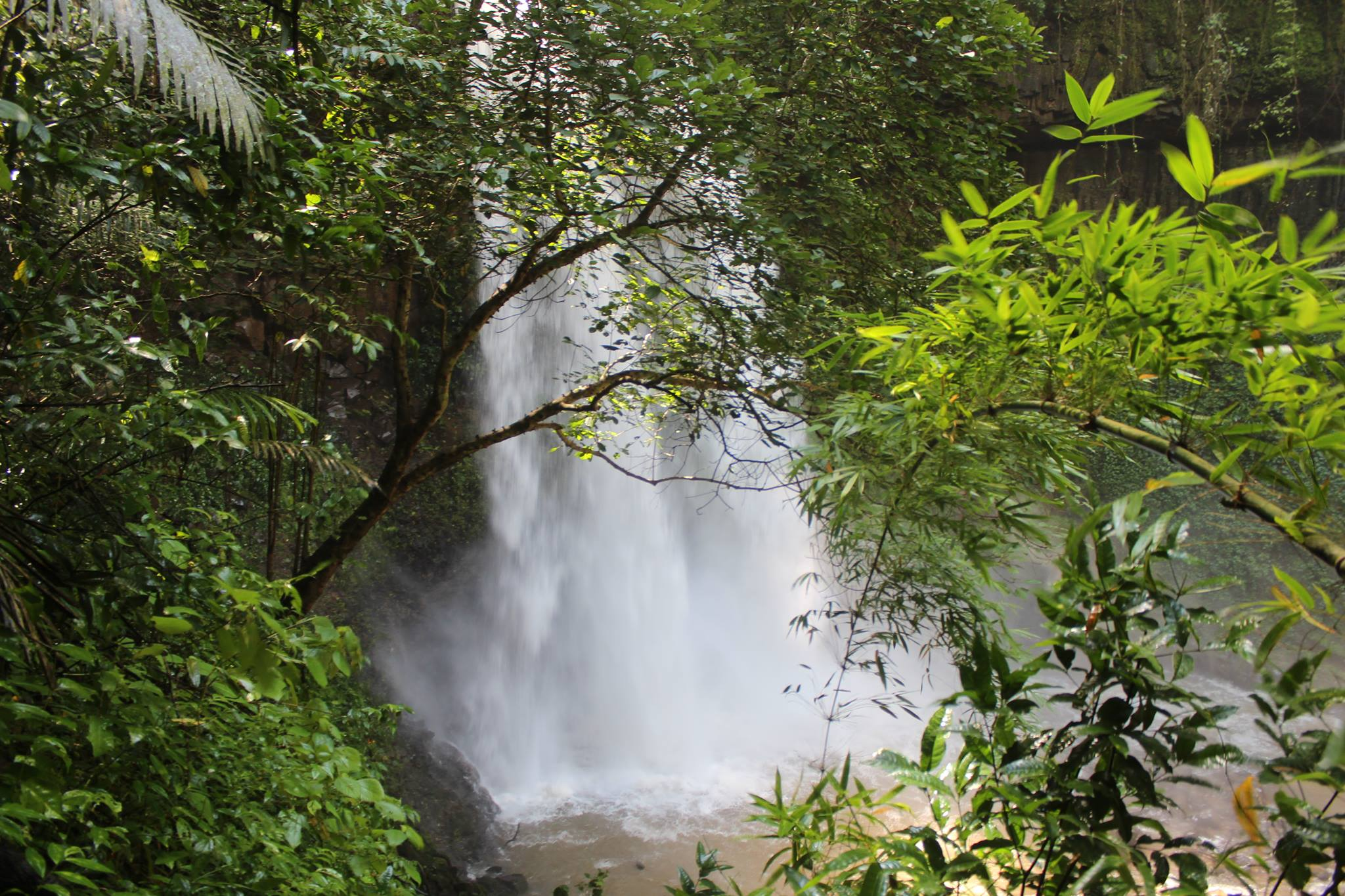 Green Cultural Travel - Cambodia - Mondulkiri - Great waterfall