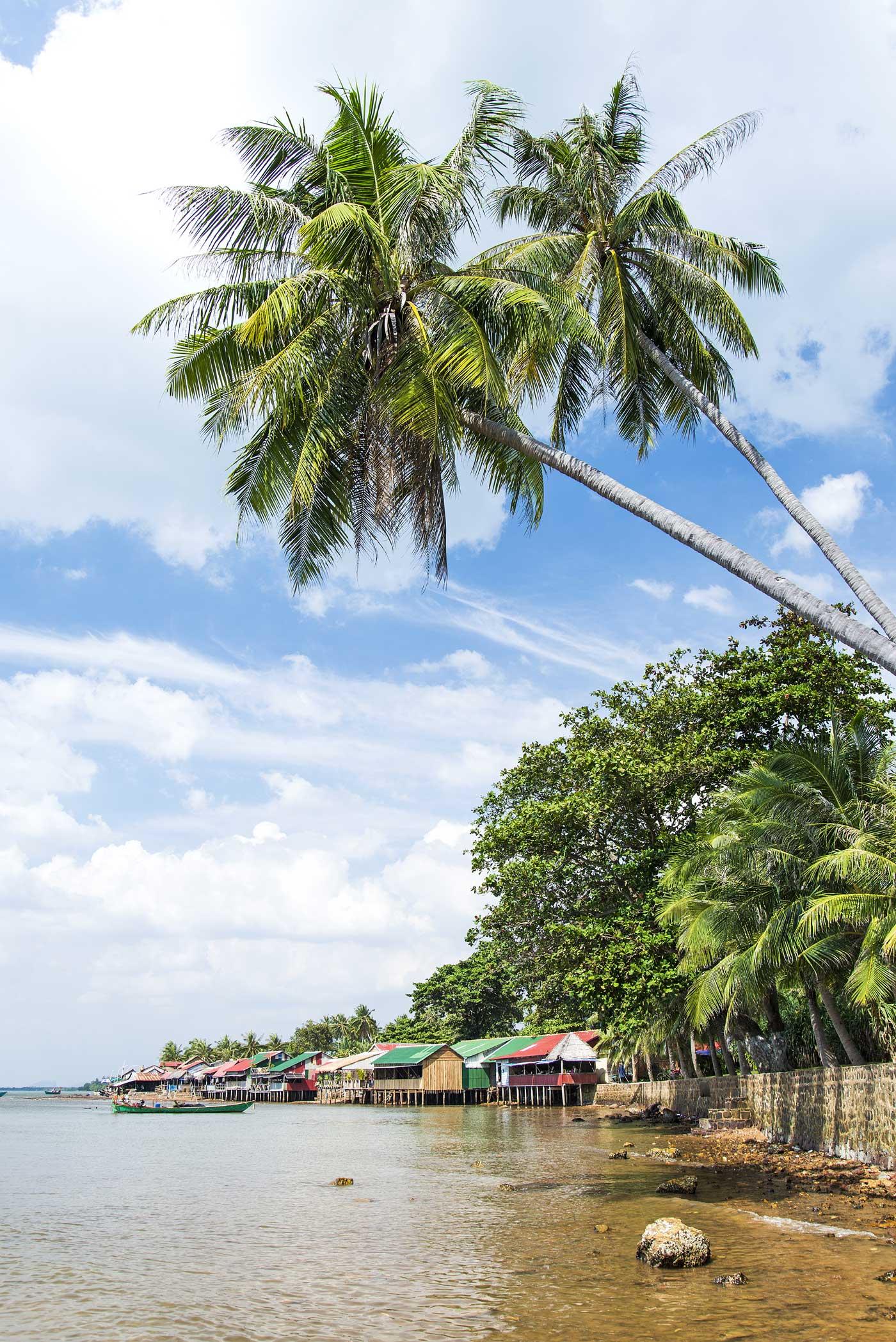Green Cultural Travel - Cambodia - Kep - Crab Market