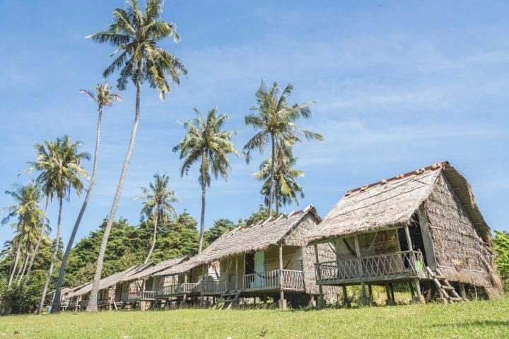 Green Cultural Travel - Cambodia - Kep - Rabbit Island -Bungalows