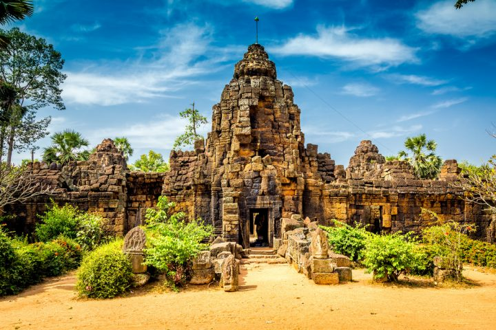 Green Cultural Travel - Cambodia -Takeo - Tonle Bati