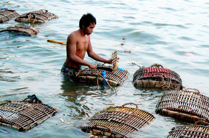 Green Cultural Travel - Cambodia -Kep-Crab Market