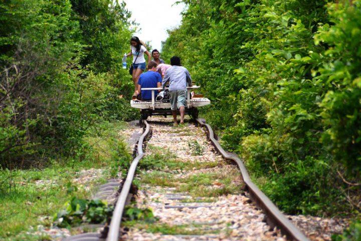 Green Cultural Travel - Cambodia - Tours -  Battambang  -bamboo-train